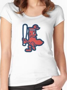 Boston Red Sox Doll Women's Fitted Scoop T-Shirt
