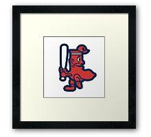 Boston Red Sox Doll Framed Print