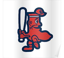 Boston Red Sox Doll Poster