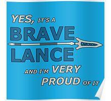 BRAVE LANCE | Fire Emblem Poster