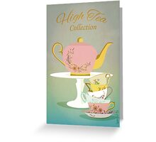 High Tea Collection Greeting Card