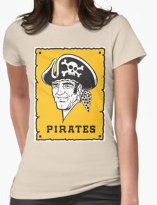 Pittsburgh Pirates Captains Womens Fitted T-Shirt