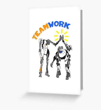 Teamwork Greeting Card