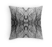 Fractal Trees Throw Pillow