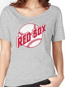 Boston Red Sox Old Logo Women's Relaxed Fit T-Shirt