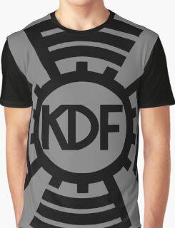 KdF Sunwheel Logo Graphic T-Shirt