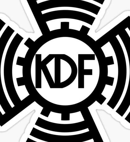 KdF Sunwheel Logo Sticker