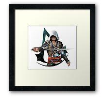 Edward Kenway (Assassins Creed Black Flag) Framed Print