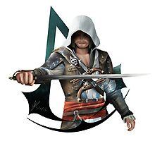 Edward Kenway (Assassins Creed Black Flag) Photographic Print