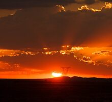 The sun waving goodbye  - I'll be back in the morning by Qnita