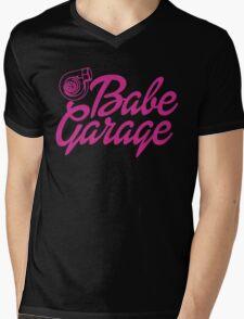 Turbo Barbie Mens V-Neck T-Shirt