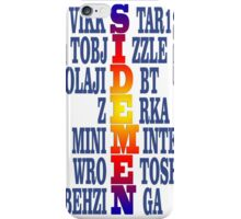 Personil - Sidemen  iPhone Case/Skin