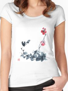 Blossom tree Women's Fitted Scoop T-Shirt