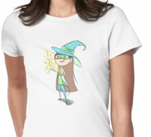 Chemistry Wizard Womens Fitted T-Shirt