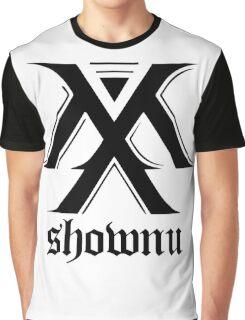Monsta X logo + Shownu Graphic T-Shirt