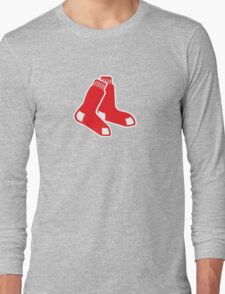 Boston Red Sox Logo Long Sleeve T-Shirt