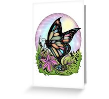 Butterfly Serenity Greeting Card