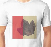 Two Tone Leaf Unisex T-Shirt