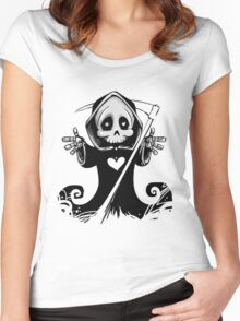 Grim Reaper Women's Fitted Scoop T-Shirt