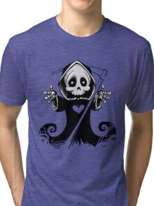 Grim Reaper Tri-blend T-Shirt