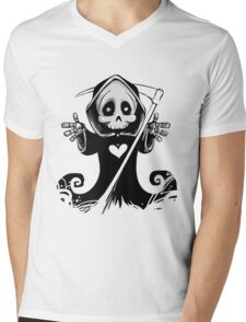 Grim Reaper Mens V-Neck T-Shirt