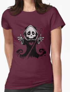 Grim Reaper Womens Fitted T-Shirt
