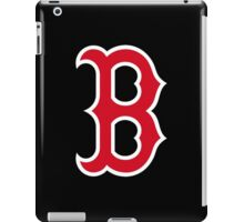 Boston Red Sox Simple Logo iPad Case/Skin