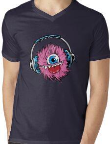 Monster  Mens V-Neck T-Shirt