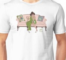 On Her Mama's Couch Unisex T-Shirt