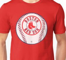 Boston Red Sox With Balls Unisex T-Shirt