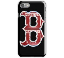 Boston Red Sox Typograph iPhone Case/Skin
