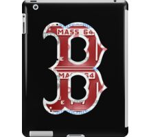 Boston Red Sox Typograph iPad Case/Skin