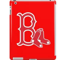 Boston Red Sox with Socks iPad Case/Skin