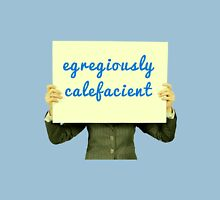 Egregiously Calefacient Sign Board Unisex T-Shirt
