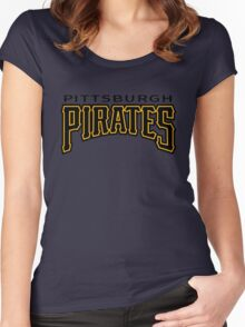 Pittsburgh Pirates Women's Fitted Scoop T-Shirt
