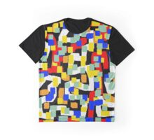 Abstract multicolor Graphic T-Shirt