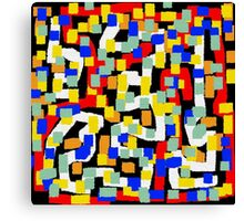 Abstract multicolor Canvas Print