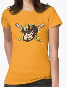 Pittsburgh Pirates Womens Fitted T-Shirt