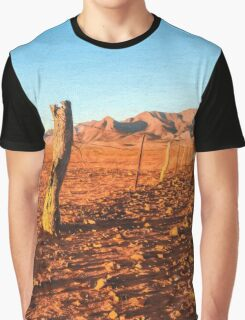 Outback Fence (GO6) Graphic T-Shirt