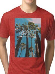 Wanderlust Palm Tri-blend T-Shirt