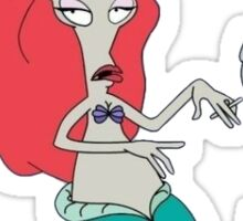 American Dad Mermaid Sticker