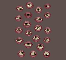Fleshy Eyeballs Unisex T-Shirt