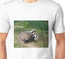 Badger Cubs playing Unisex T-Shirt