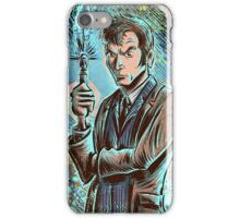 Dr Who David Tennant Art Print the doctor who bbc sci fi tenth doctor 10th time lord travel machine tardis space sonic screwdriver face bo iPhone Case/Skin