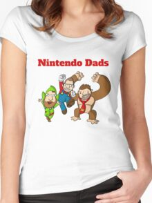 Nintendo Dads Women's Fitted Scoop T-Shirt
