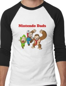 Nintendo Dads Men's Baseball ¾ T-Shirt