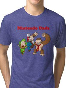 Nintendo Dads Tri-blend T-Shirt