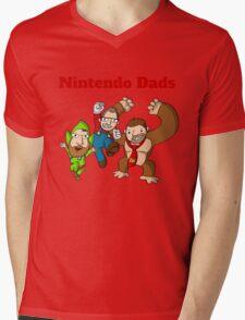 Nintendo Dads Mens V-Neck T-Shirt