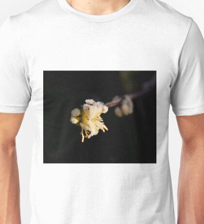 Frost on Shrubby Honeysuckle Unisex T-Shirt