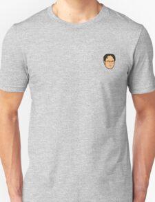 Dwight Schrute Mini Head Unisex T-Shirt